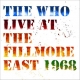 LIVE AT THE FILLMORE, WHO, CD, 0602567444855