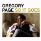 SO IT GOES, PAGE, GREGORY, CD, 8717931330404