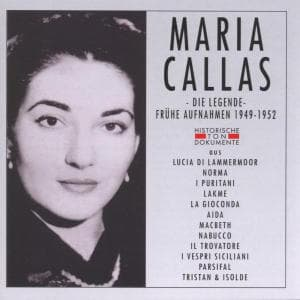 DIE LEGENDE, CALLAS, MARIA, CD, 4032250030137