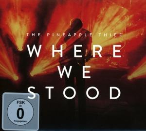 WHERE WE STOOD -CD+DVD-, PINEAPPLE THIEF, CD, 0802644849072