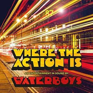 WHERE THE ACTION IS -GATEFOLD-, WATERBOYS, LP, 0711297523119