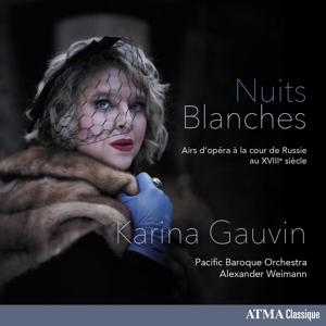 NUITS BLANCHES, GAUVIN, KARINA, CD, 0722056279123