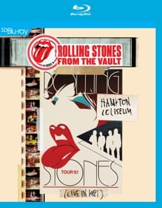 FROM THE VAULT - HAMPTON COLISEU, ROLLING STONES, Blu-ray, 5051300301675