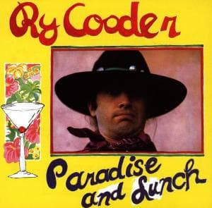 PARADISE AND LUNCH, COODER, RY, CD, 0075992721226