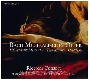 MUSICALISCHES OPFER, RICERCAR CONSORT, CD, 3760127222378