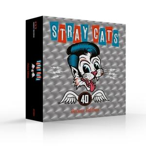 40 -BOX SET/BONUS TR/LTD-, STRAY CATS, CD, 0819873019244