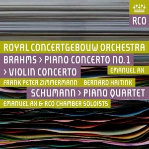 PIANO CONCERTO.. -SACD-, BRAHMS/SCHUMANN, CD, 0814337019280