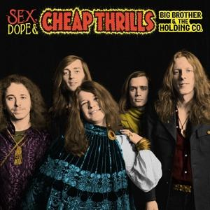 SEX, DOPE AND CHEAP THRILLS, BIG BROTHER & THE HOLDING, LP, 0190758635316
