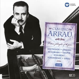 VIRTUOSO PHILOSOPHER OF THE PIANO, ARRAU, CLAUDIO, CD, 5099991843227