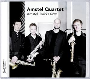 AMSTEL TRACKS NOW!, AMSTEL QUARTET, CD, 0608917253429