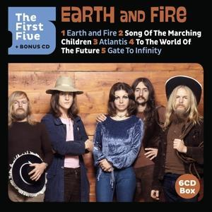 THE FIRST FIVE (LTD.ED.), EARTH & FIRE, CD, 0602577595455