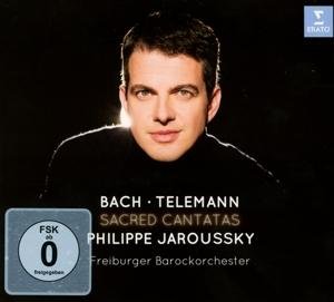 SACRED CANTATAS -CD+DVD-, JAROUSSKY, PHILIPPE, CD, 0825646491599