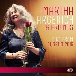 LIVE FROM LUGANO 2016, ARGERICH, MARTHA, CD, 0190295831653