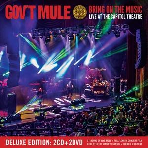 BRING ON THE MUSIC -CD+DV, GOV'T MULE, CD, 0819873019701