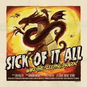 WAKE THE SLEEPING DRAGON!, SICK OF IT ALL, CD, 0190758826721
