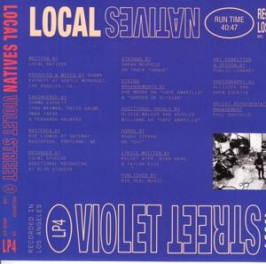 VIOLET STREET, LOCAL NATIVES, CD, 0888072090743