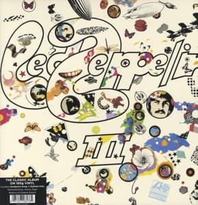 III -HQ/REMAST-, LED ZEPPELIN, LP, 0081227965761