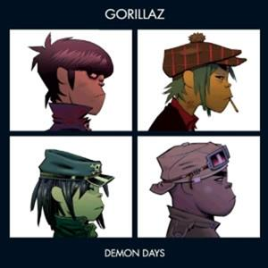 DEMON DAYS, GORILLAZ, LP, 0724387383814