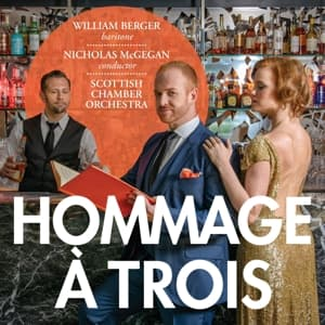 HOMMAGE A TROIS, BERGER, WILLIAM/CAROLYN S, SACD, 0691062042826