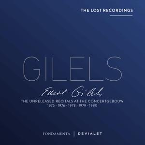 UNRELEASED RECITALS AT.., GILELS, EMIL, CD, 0190758348827