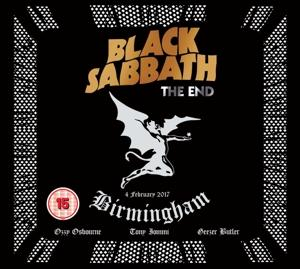 THE END (LIVE FROM BIRMINGHAM)&THE, BLACK SABBATH, DVD+CD, 5051300208721