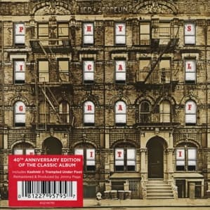 PHYSICAL GRAFFITI, LED ZEPPELIN, CD, 0081227957957