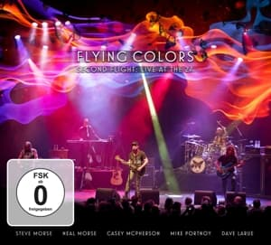 SECOND.. -CD+DVD-, FLYING COLORS, CD, 0819873011972
